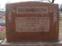 Donald Jefferson Richardson
