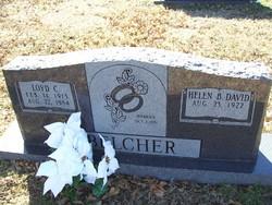 Helen B. <I>David</I> Belcher