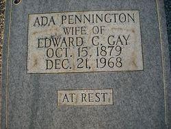 Ada Francis <I>Pennington</I> Gay