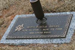 "Alpha Lorene ""Mimi"" <I>Ashcraft</I> Ambort"