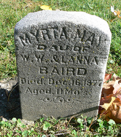 Myrta May <I>Baird</I> Baird