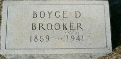 Dr Boyce Duncan Brooker