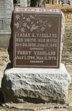 Sarah A <I>Vreeland</I> McFee