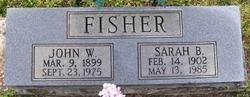 Sarah Belle <I>Green</I> Fisher