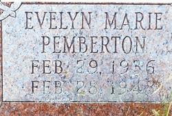 Evelyn Marie Pemberton
