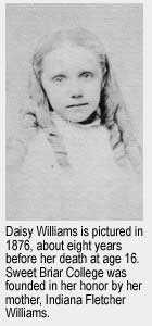 "Maria Georgiana ""Daisy"" Williams"