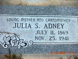Julia S <I>King</I> Adney