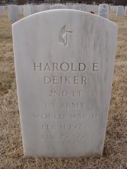 Harold E Deiker