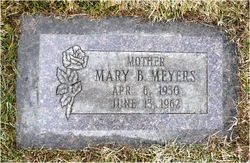 Mary <I>Baker</I> Meyers