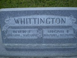 Mary Virginia <I>Bunderson</I> Whittington
