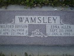 Edna Lucille <I>Allen</I> Wamsley
