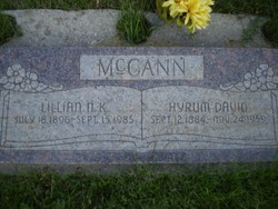 Lillian Nettie <I>Kiddy</I> McCann