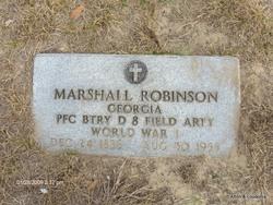 Marshall Monroe Robinson