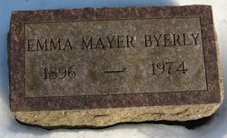 Emma <I>Mayer</I> Byerly
