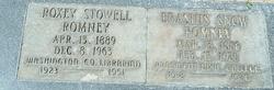Roxie Maria <I>Stowell</I> Romney