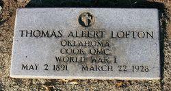 Pvt Thomas Albert Lofton