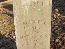 Lafayette Bowlin