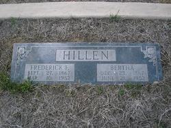 Bertha Caroline <I>Leist</I> Hillen