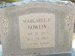 "Margaret Elizabeth ""Maggie"" <I>Partlow</I> Bowlin"