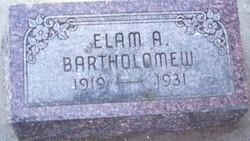 Elam Albert Bartholomew