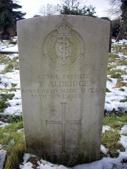 Pvt Robert Aldridge