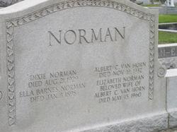 Elizabeth Spence <I>Norman</I> Van Horn