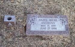 Hazel Irene <I>Hammons</I> Anthony