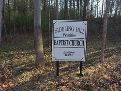 Sideling Hill Primitive Baptist Cemetery