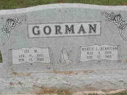 Myrtle  Lutecia <I>Scantlan</I> Gorman