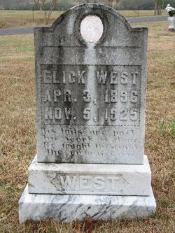 """Elijah Alexander """"Elick"""" West"""