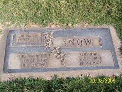 Leo Alva Snow