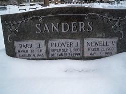 """Newell Van Fleet """"Hod"""" Sanders"""