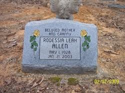 Rodessia Leah <I>Justice</I> Allen