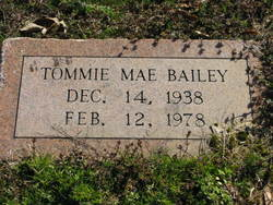 Tommie Mae Bailey