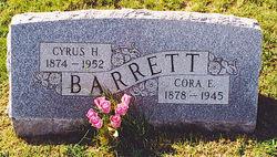 Cora Edna <I>Young</I> Barrett