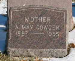 """Alice May """"May"""" <I>Williams</I> Cowger"""
