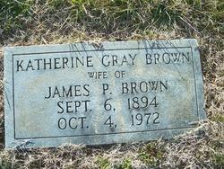 Katherine <I>Gray</I> Brown