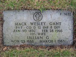 Mack Wesley Gant