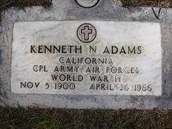 Kenneth Norris Adams