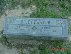 Mary Ann <I>Coffman</I> Bridgewater