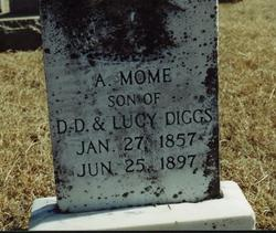 """Andrew Moorman """"Mome"""" Diggs"""