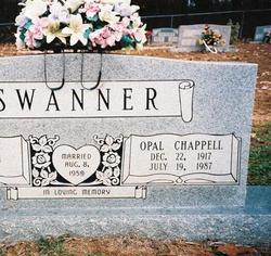 Opal <I>Chappell</I> Swanner