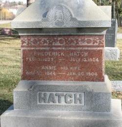 Annie <I>Ott</I> Hatch