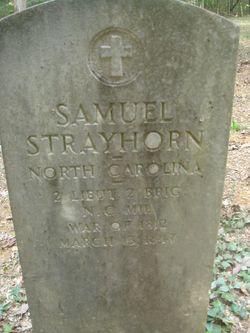 Lieut Samuel Strayhorn