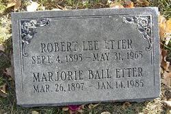 Marjorie <I>Ball</I> Etter