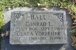 Clara Esther <I>Vorreiter</I> Ball