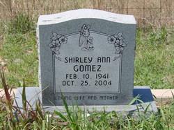 Shirley Ann <I>Nalley</I> Gomez