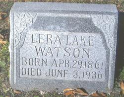 "Maria Helera ""Lera"" <I>Lake</I> Watson"