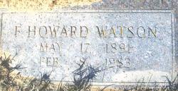 Frank Howard Watson, Sr