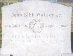Annie Louise <I>Fischer</I> Watson